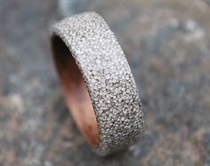 Wood ring Bentwood Ring Wood Wedding Bands by Wellsbaredesigns
