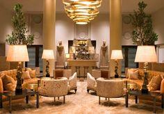 Kelly Wearstler gold living room