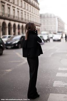 not your average black suit. love