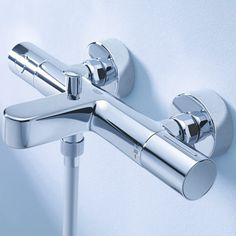 Grohe Grohtherm 1000 cosm.m Badthermostaat 15 cm. m/omstel m/kopp. Chroom 34215002 Productafbeelding