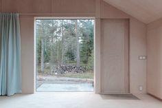 Beautiful wood cabin interior via SUBTILITAS