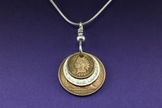 Coin jewelry idea, make Jewelry with coins from the countries You've been to.