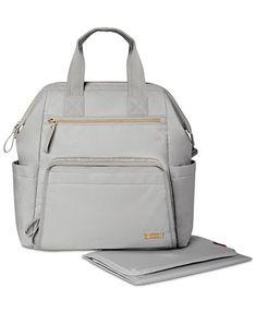Skip Hop Mainframe Wide Open Diaper Backpack & Reviews - All Kids' Accessories - Kids - Macy's Diaper Bag Backpack, Backpack Straps, Colorful Backpacks, Backpack Reviews, Baby Diaper Bags, Nappy Bags, Backpack Online, New Baby Girls, Black Backpack