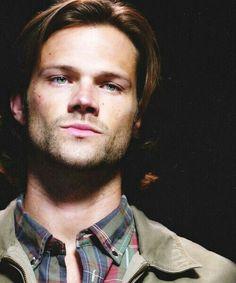 Beautiful eyes. Sam Winchester. #SPN #Supernatural #JaredPadalecki