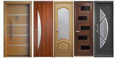 Top 50 Modern Wooden Door Design Ideas You Want To Choose Them For Your Home Because doors are highly visible, hardworking parts in a home's interior, Interior Door Styles, Double Doors Interior, Door Design Interior, Modern Home Interior Design, Home Design, Design Ideas, Exterior Design, Modern Entrance Door, Modern Wooden Doors