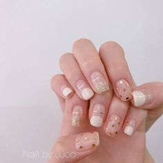 Nail polish strips are an easy way to add designs with tape to your manicure ❤ Here you find great ideas can be easily customized ❤ See more at LadyLife ❤ Korean Nail Art, Korean Nails, Minimalist Nails, French Nails, Diy Nail Designs, Trendy Nail Art, Super Nails, Nagel Gel, Creative Nails