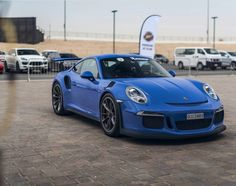 Porsche 991 GT3 RS painted in paint to sample Maritime Blue Photo taken by: @akashugly on Instagram