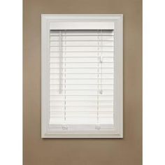Home Decorators Collection White Faux Wood Blind 2 in. Slats, 72 in. Length (Price Vary)-10793478068333 at The Home Depot