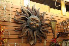 Moon Decor, Wall Decor, Metal Sun Wall Art, Osage Beach, Bohemian Interior, Home Decor Store, Evergreen, Are You Happy, Lion Sculpture