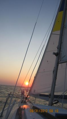 Sailing out of the Narrasketuck Yacht Club on Catalina 22 in Amityville, NY on the Great South Bay