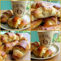 Fresh from the Oven March Challenge - Traditional Buttery French Croissants for Lazy Bistro Breakfasts