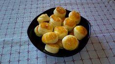 Vajas pogácsa Pretzel Bites, My Recipes, Plum, Bread, Fruit, Food, Brot, Essen, Baking