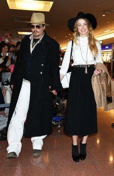 【UPDATE】ジョニー・デップが婚約者アンバー・ハードと来日! 挙式報道が急浮上