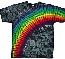 Groovy Dude Tie Dyed T Shirts