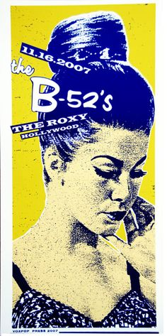 B52s - marking them off the bucket list in August!!! Can't believe I'm FINALLY going to see them in concert!