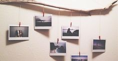 13 Creative Ways To Display Photos & Decorate Your Home