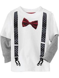 Bow-Tie/Suspenders 2-in-1 Graphic Tees | Old Navy... Sean (Winter Wardrobe)