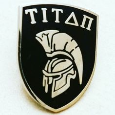 Titan Shield pin badges we recently produced