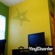 Star Jewish Wall Decal - Vinyl Decal - Car Decal - CF078