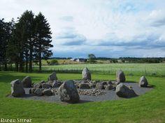 Cullerlie Stone Circle im Aberdeenshire