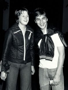 Oh...oops  - they are not in costume...this is what they really looked like...Melanie Griffith and Don Johnson. She was 15 here and he was 22.  The year was 1972.