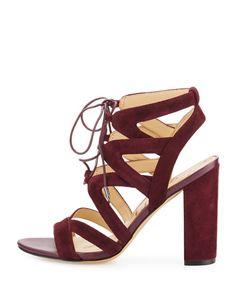 a0fd7af1df7434 Sam Edelman Yardley Suede Lace-Up Sandal