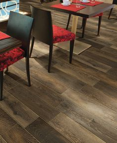 Elmendorf's: The look of wood with the ease and maintenance of tile! Find the look for your room: http://www.lowes.ca/floors_1126.html
