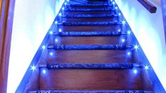 If you don't want to put your LED Lighting on the ceiling, why don't you put it on the staircase?