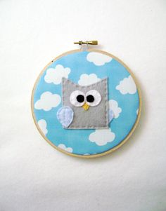 So cute! Fabric Wall Art