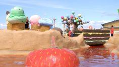 Explore Strawberry Falls - The Ice Cream Farm Cheshire Ice Cream Farm, Candy Castle, Adventure Golf, Crazy Golf, Chocolate Factory, Strawberry, Commercial, Explore, Fall