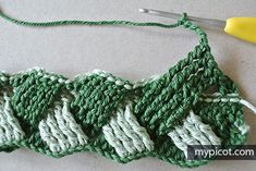 MyPicot is always looking for excellence and intends to be the most authentic, creative, and innovative advanced crochet laboratory in the world. Afghan Patterns, Crochet Blanket Patterns, Baby Blanket Crochet, Crochet Stitches, Diy Crochet, Crochet Hats, Basket Weave Crochet, Crochet Scrubbies, Crochet Designs