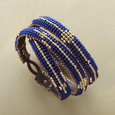 DIY Jewelry: RIVER RUN 3 WRAP BRACELET. Hand-loomed beads create a stream of color deep water...  https://diypick.com/fashion/diy-jewelry/diy-jewelry-river-run-3-wrap-bracelet-hand-loomed-beads-create-a-stream-of-color-deep-water/