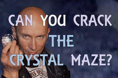 Can't wait for The Crystal Maze to come back? Play this game instead, and find out if you have what it takes to lead your team to victory. Crystal Maze, O Brian, Me Tv, Musical Theatre, Games To Play, Victorious, Comebacks, Canning, Crystals