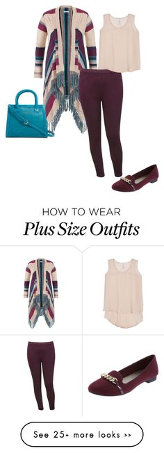 """""""Untitled #3863"""" by browneyegurl on Polyvore featuring maurices, M&Co, Vera Bradley, Melissa McCarthy Seven7 and plus size clothing"""