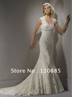 lace appliqued high mandarin keyhole back wedding dress Simple elegant lace vintage
