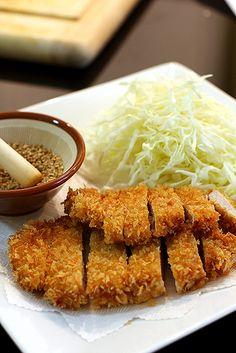 ★ Fresh Orange ★ Tonkatsu (Pork cutlet)