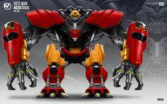 Robot Masters: Guts Man by rubendevela on deviantART