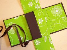 Creative Bookbinding - love the box cover for the book.