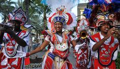 Junkanoo dancers performing at the resort: Junkanoo is a native festival that has its origins in the bahamas. The largest shows can be seen on Dec 26th & Jan 1st downtown