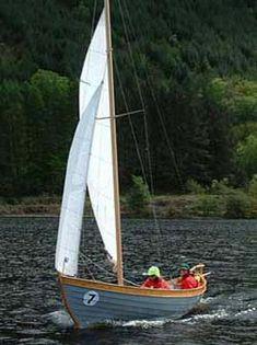 Traditional Viking boat builders in Ullapool