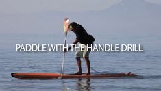 Expert paddler Jay Wild shares a unique drill that is sure to improve your paddling efficiency in this second installment of a three-part tutorial series. Sup Stand Up Paddle, Sup Paddle, Sup Surf, Sup Racing, Inflatable Sup, Offshore Wind, Sup Yoga, Standup Paddle Board, Learn To Surf