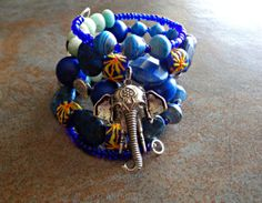 Mix With The Elephant Lapiz Lazuli and by KheperaAdornments