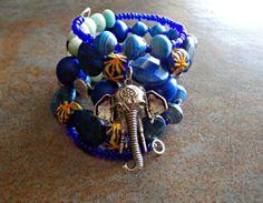 Mix With The Elephant Lapiz Lazuli and by KheperaAdornments