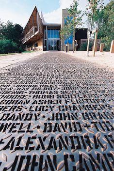 Walk of Art – Yorkshire Sculpture Park, 2002 — Gordon Young
