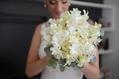 Casamento de dia no Rio Grande do Sul - Buquê branco para noiva