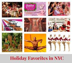 What We Love About NYC During the Holidays. We all know NYC is a special place, and during the holidays it can seem even more magical. From classic shows to store windows to the Rockerfeller Christmas tree that we can't get enough of – here are some of our favorite things to do this holiday season.   MomTrends
