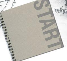 New Start Notebook Notebook for Rosh Hashana New by LooveMyArt