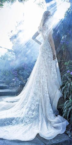 18 Mysterious Alessandro Angelozzi Wedding Dresses ❤ See more: http://www.weddingforward.com/alessandro-angelozzi-wedding-dresses/ #wedding #dresses #alessandro #angelozzi #2017