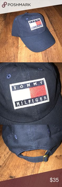 New Custom Made Tommy Hilfiger Cotton Dad Hat Cap New no tags, Tommy Hilfiger Patch added to a blank hat Tommy Hilfiger Accessories Hats
