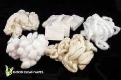 All your cotton belong to us!  Raw Organic, Japanese, Rayon, Organic Cotton Balls, Raw Organic Angel hair